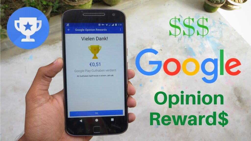 Google's Opinion Rewards