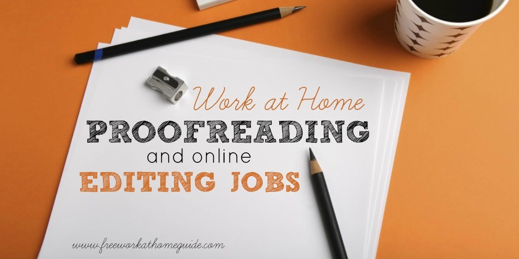 Online Proofreading Jobs for Teens