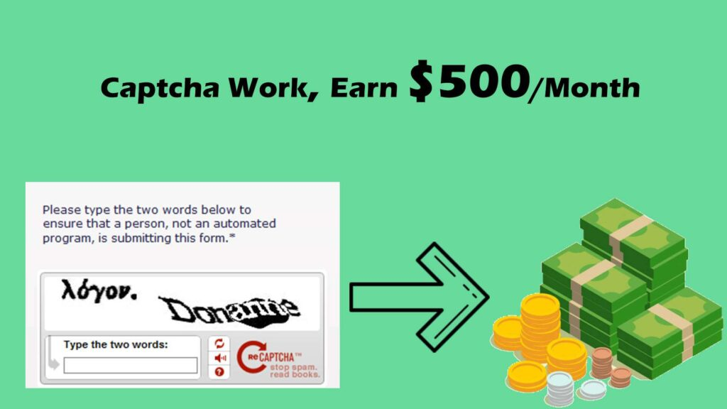 Captcha Work: Top 5 Online Captcha Entry Jobs