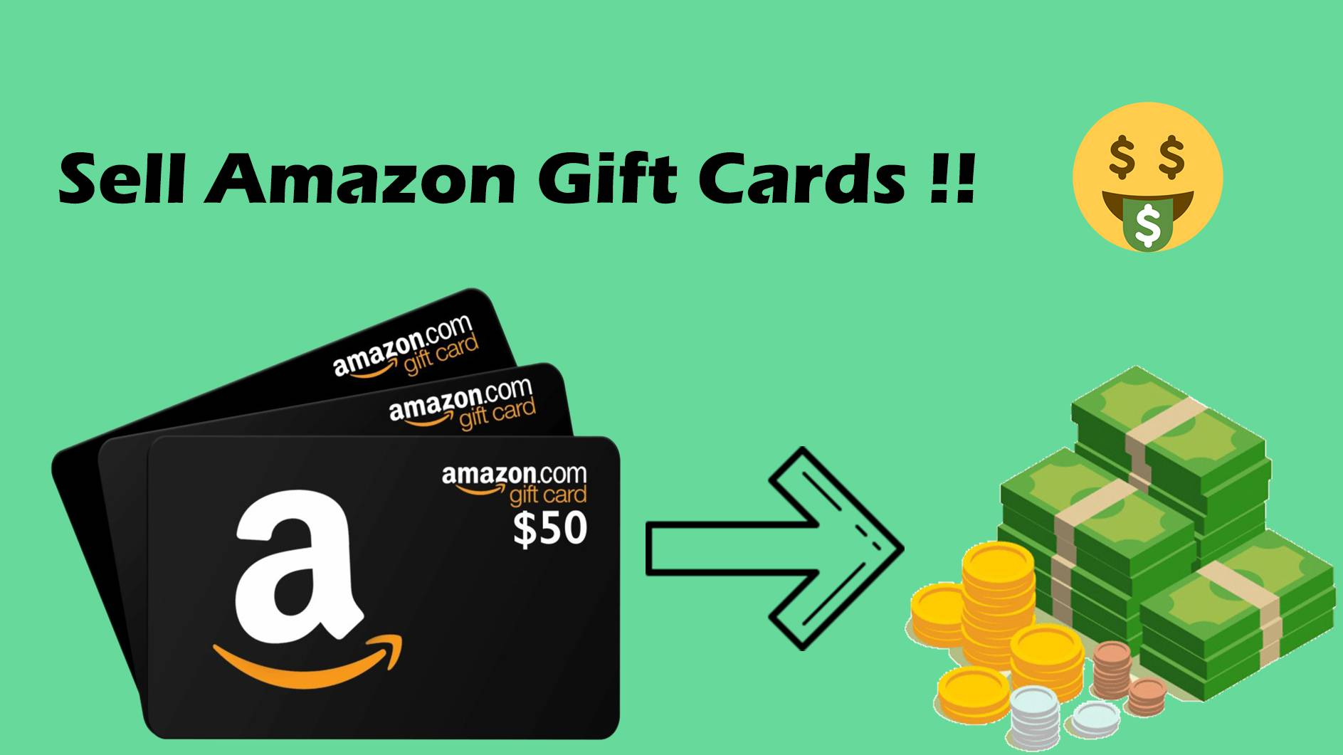 Sell Amazon Gift Cards