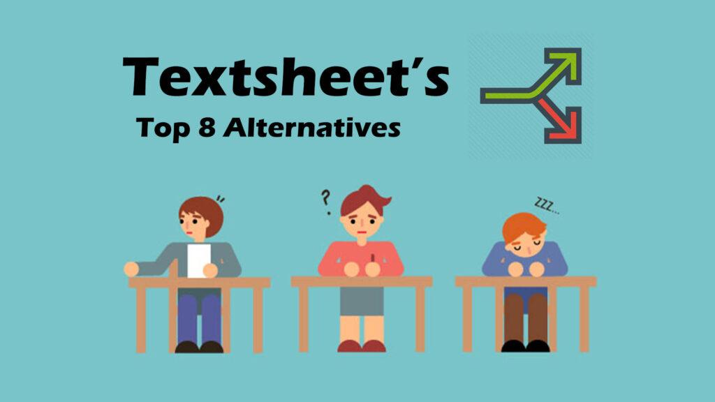 Textsheet Alternatives: Top 8 Alternatives of Texsheet
