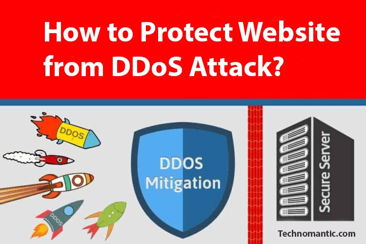 How to Protect Website from DDoS Attack