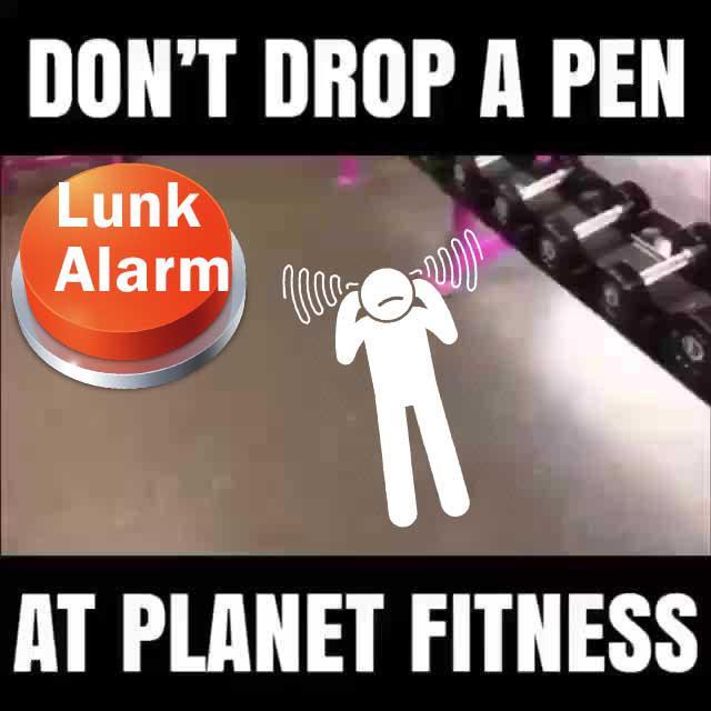 Lunk Alarm Meme