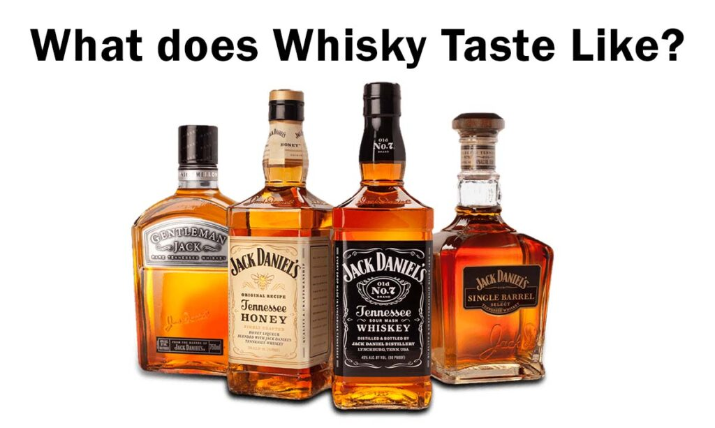 What does Whiskey Taste Like