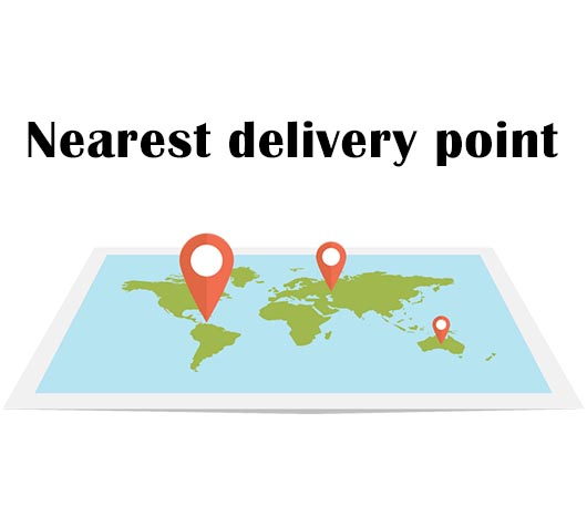 Nearest Delivery Point
