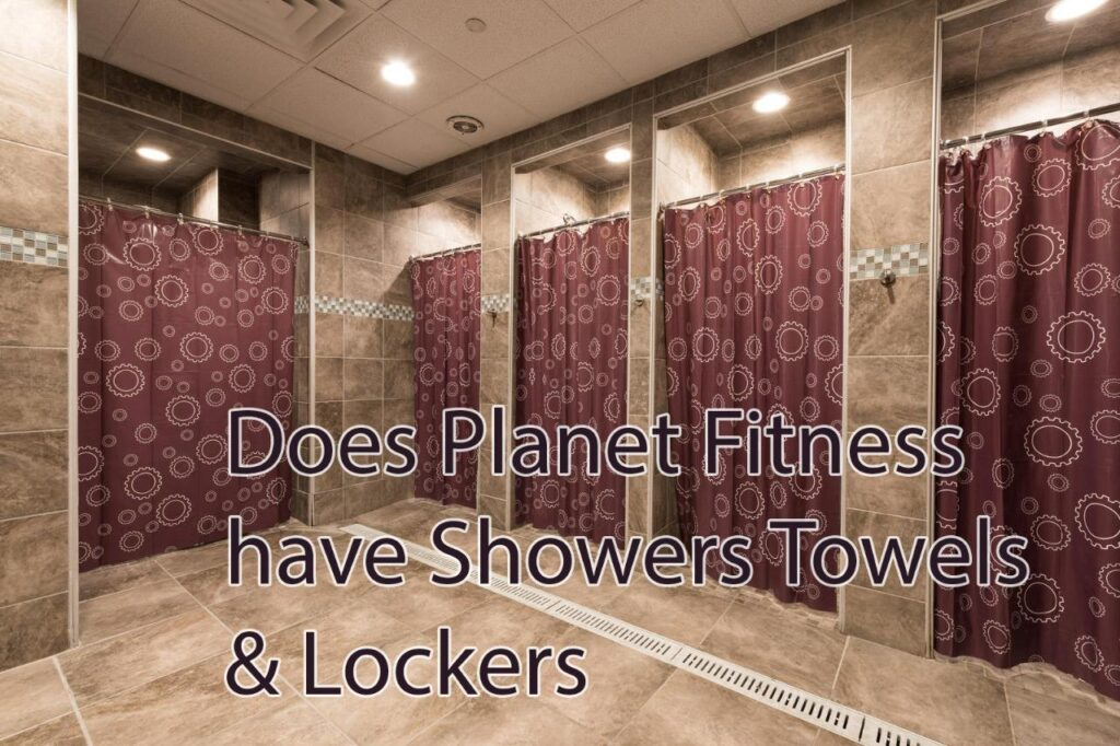 Planet Fitness Shower Rooms