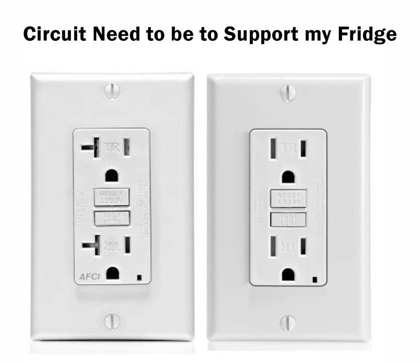 Dedicated Circuit for a Freezer