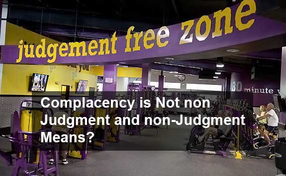 judgment free zone and its mean