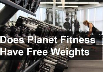 Does planet fitness have free weigh