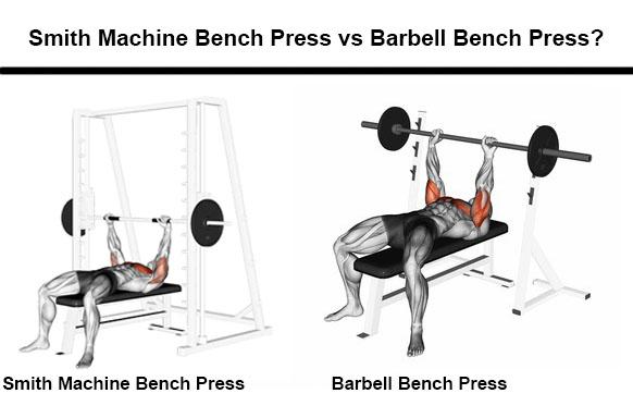 Machine Bench Press vs Barbell Bench Press