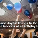 things to do with balloons at party