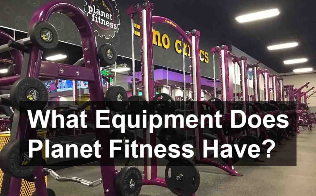 Planet Fitness Have Free Weights