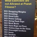 What Exercises are not Allowed at Planet Fitness?