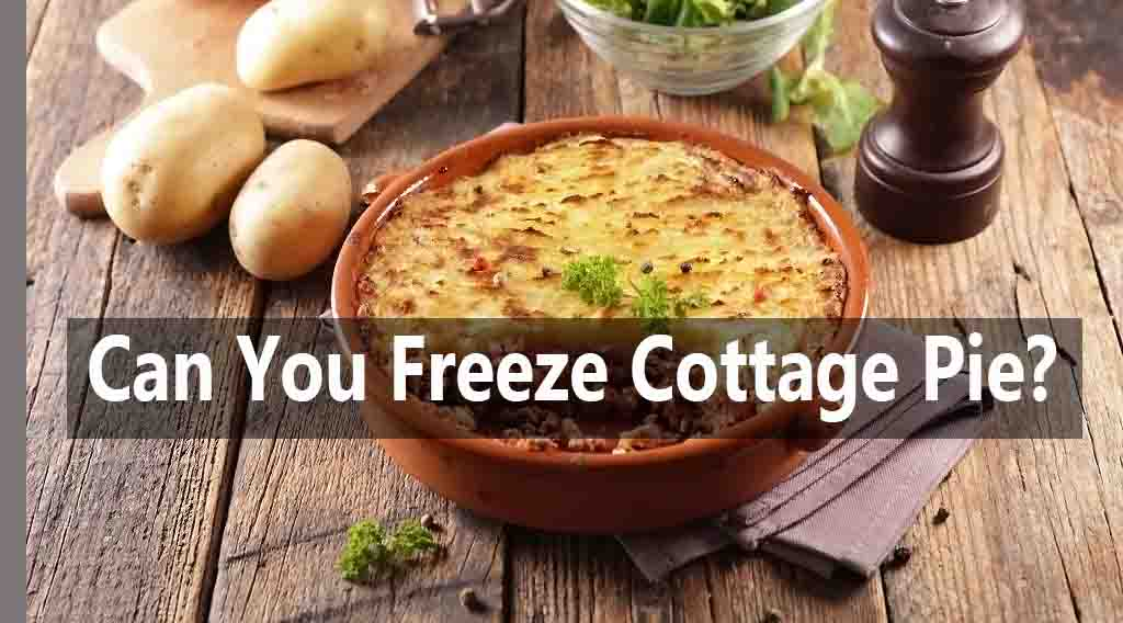 Can you Freeze Cottage Pie?