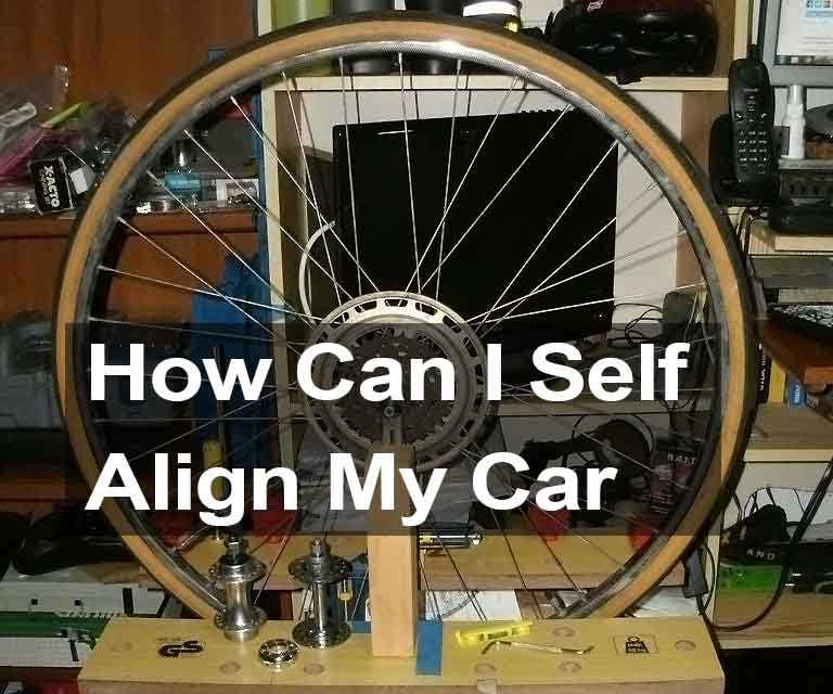 How Can I Self-Align My Car?