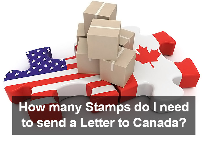 How Many Stamps do I need to send a Letter to Canada