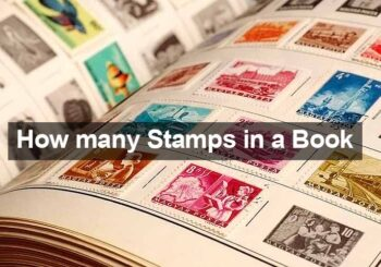 how many stamps in book