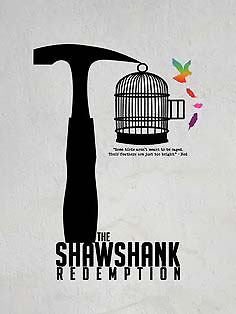 What is the last line in Shawshank Redemption