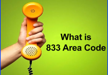 what is 833 area code