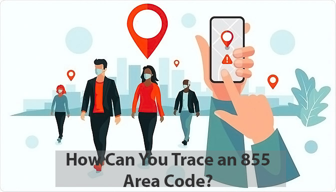 how can you track an 855 area code