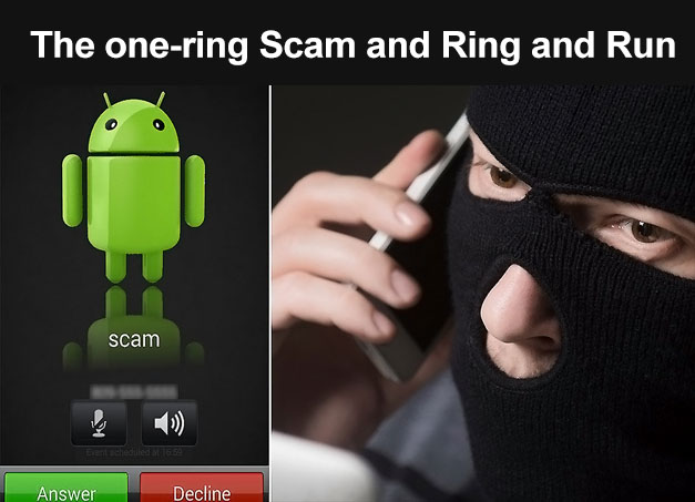 the ring and run scam