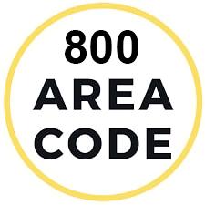 800 area code