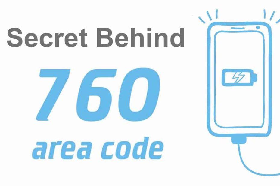 area code 760